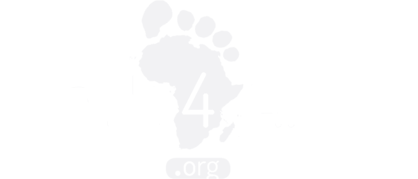 Walk4Africa Logo White