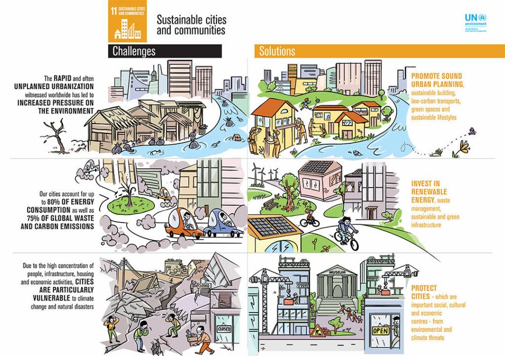 UN SDG11 Infographic