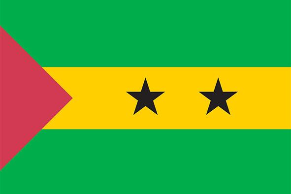 Sao Tome and Príncipe Flag