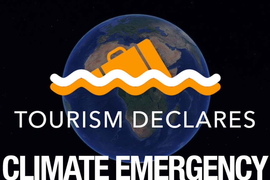 Tourism Declares Climate Emergency logo