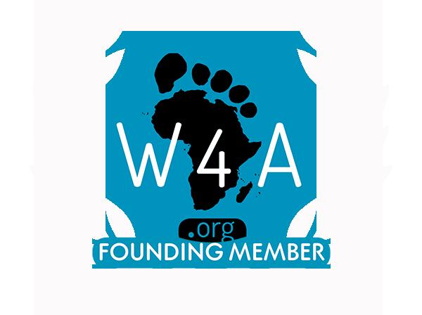 Walk For Africa Founder Member Logo