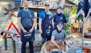 Moonshine Runners Diner Sedgefield staff